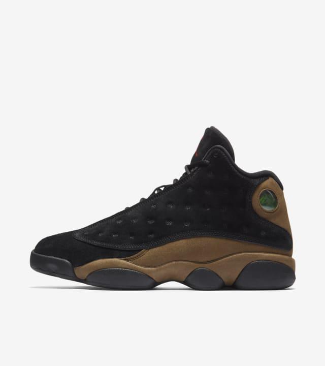 Air Jordan 13 'Black \u0026 Olive' Release