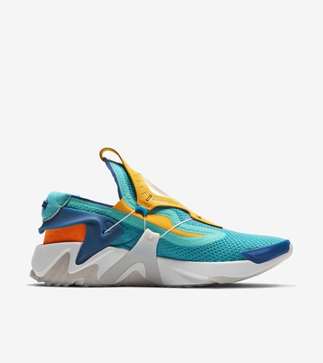 Adapt Huarache Hyper Jade Total Orange Release Date Nike Snkrs