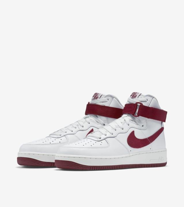 Nike Air Force 1 High 'White \u0026 Team Red