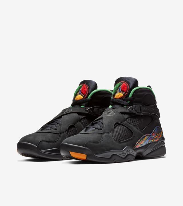 Air Jordan 8 'Black \u0026 Orange \u0026 Aloe