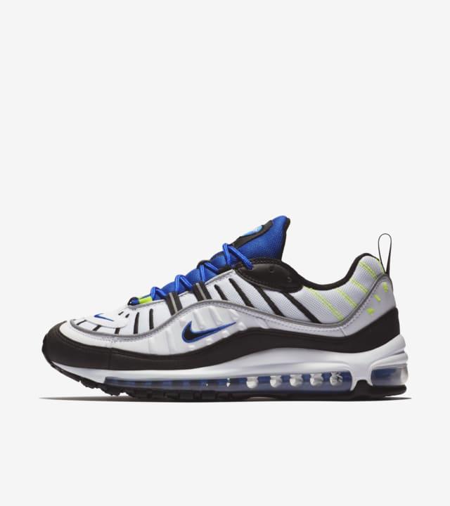 Nike Air Max 98 'White \u0026amp; Black \u0026amp