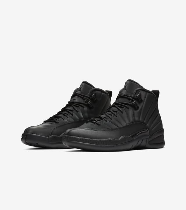 Air Jordan 12 Retro Winter 'Black