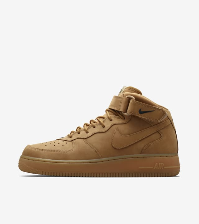 Nike Air Force 1 Mid 'Flax'. Release