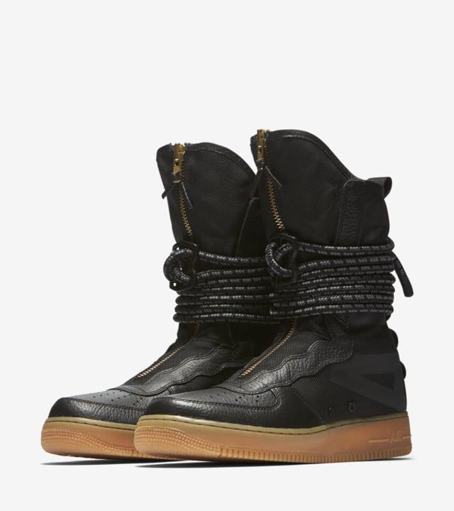 Nike Sf Af 1 High Black Gum Medium Brown Release Date Nike Snkrs