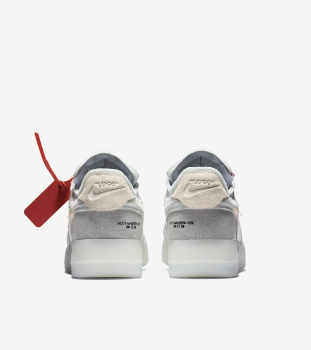 Nike The Ten Air Force 1 Low Off White Data del lancio