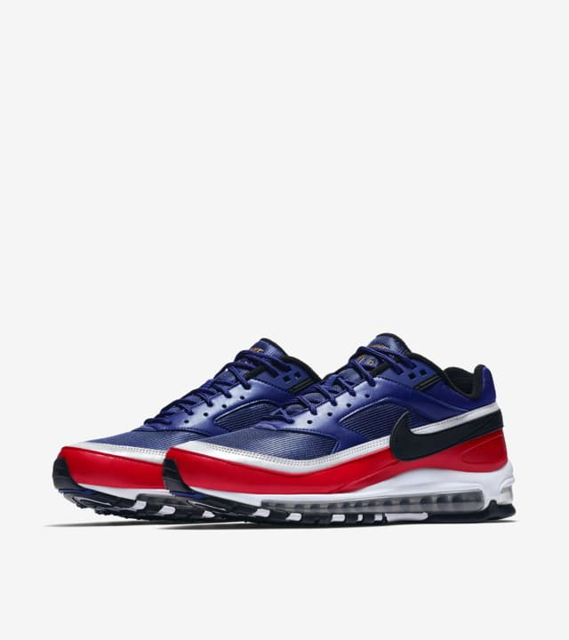 Nike Air Max 97 Bw Deep Royal Blue University Red Metallic Silver Release Date Nike Snkrs