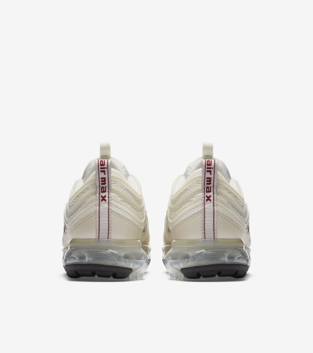 Nike Women's Air VaporMax 97 'Metallic Cashmere & Team Red ...