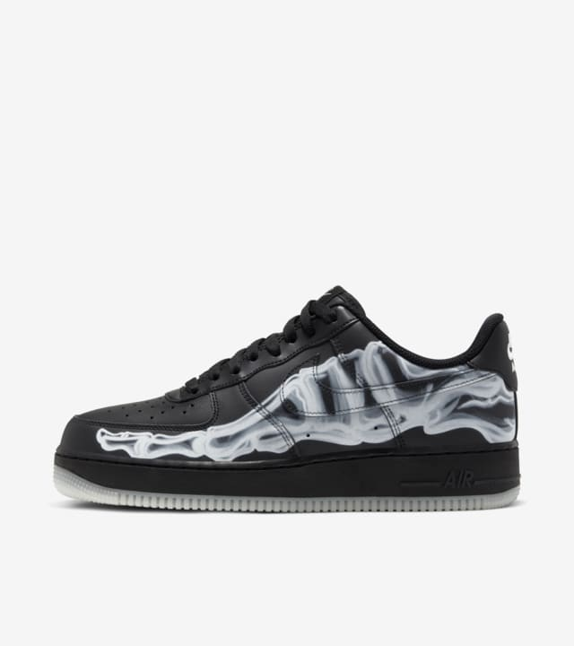 air force 1 skeleton