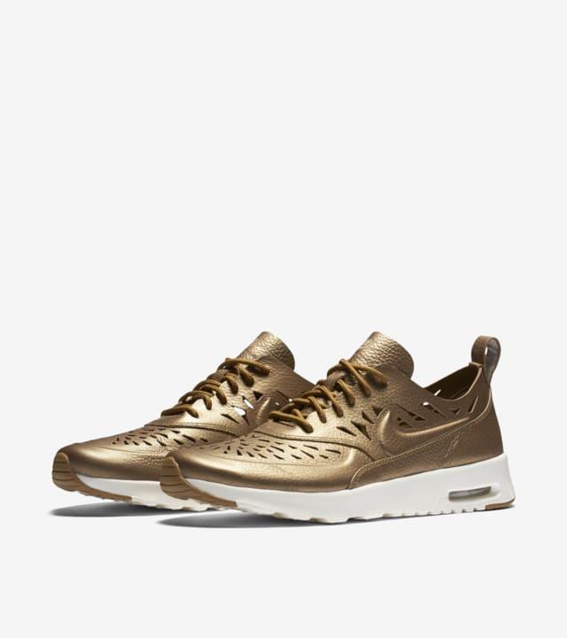 nike air max thea joli metallic gold