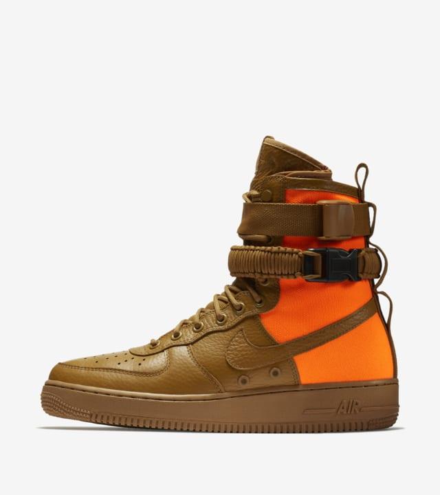 SF AF1 'Desert Ochre \u0026amp; Total Orange