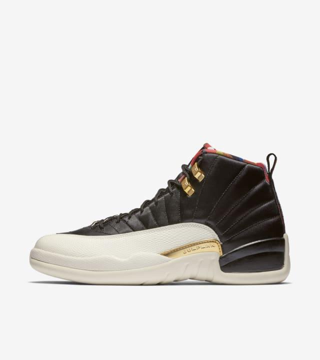 Air Jordan 12 'Black \u0026 Metallic Gold