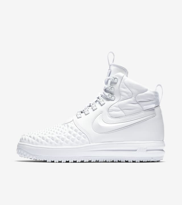 air force 1 duckboot white