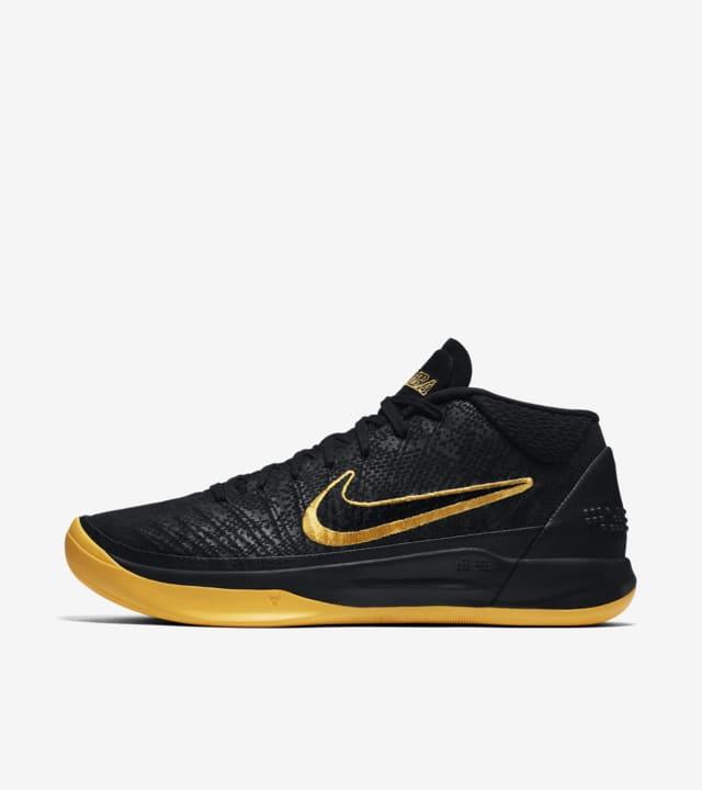 Indefinido Kent lino  Nike Kobe AD 'Black & University Gold' Release Date. Nike SNKRS