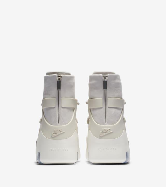 Nike Air Fear Of God 1 Light Bone Black Release Date Nike Snkrs