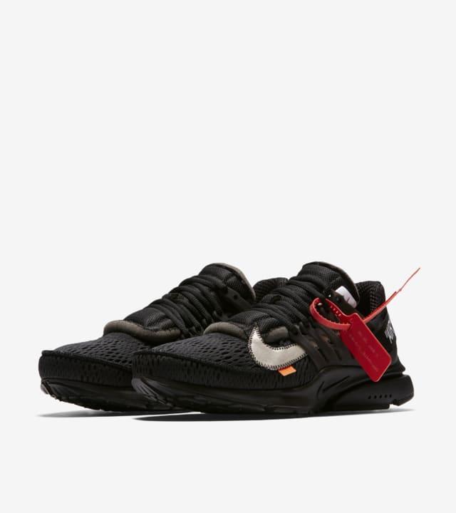 Nike 'The Ten' Presto Off-White 'Black