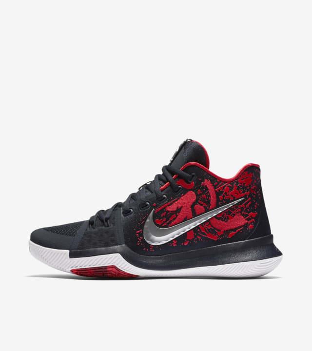 Kyrie 3 'Samurai'. Nike SNKRS HU