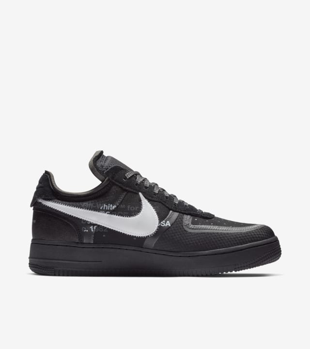 The 10: Nike Air Force 1 Low Black and Cone and White