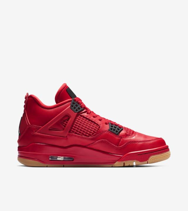 womens jordan 4 red