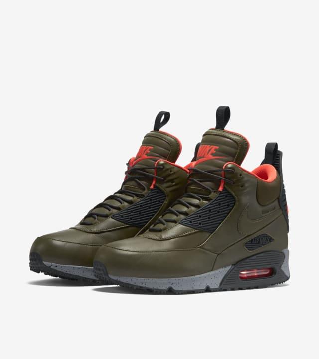 Nike Air Max 90 Sneakerboot 'Dark Green