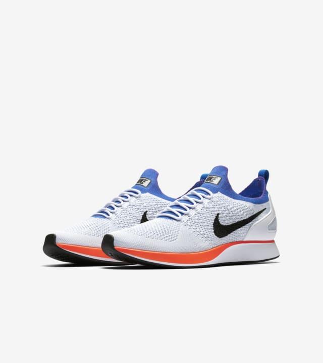 Examinar detenidamente Complejo Reductor  Nike Air Zoom Mariah Flyknit Racer 'White & Hyper Grape'. Nike SNKRS