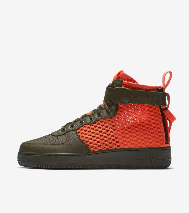 Nike SF AF1 Mid 'Cargo Khaki \u0026amp