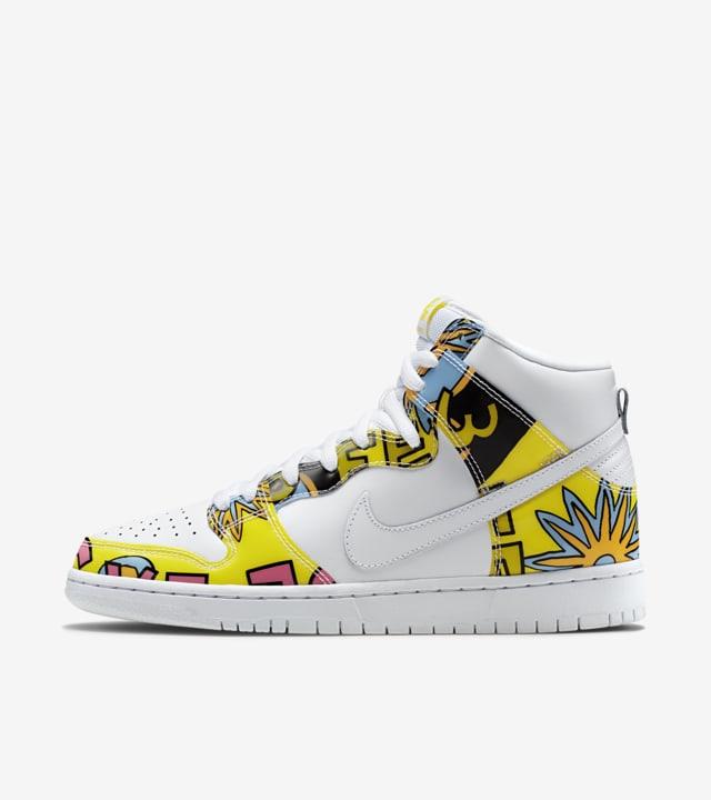 Nike Dunk High SB 'De La Soul'. Nike SNKRS