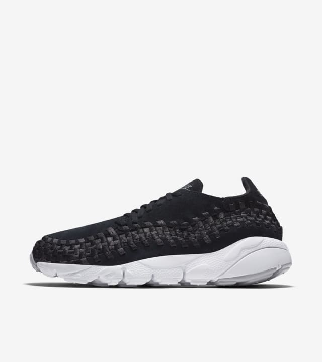 Idear excepción casete  Nike Air Footscape Woven 'Black & Wolf Grey' Release Date. Nike SNKRS GB