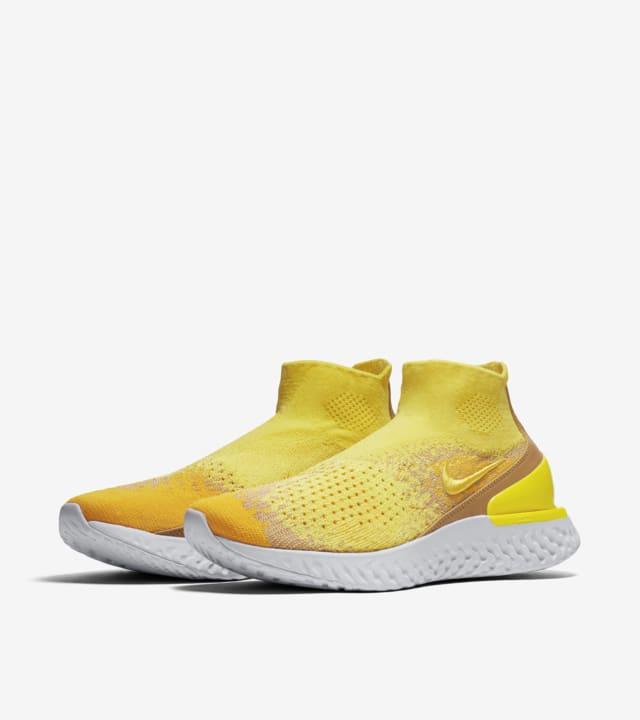 nike react yellow