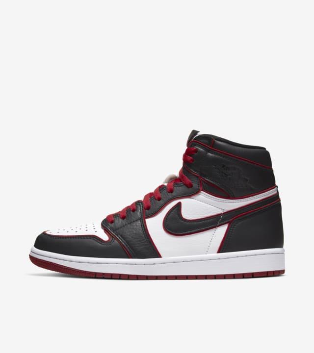air jordan 1 red black