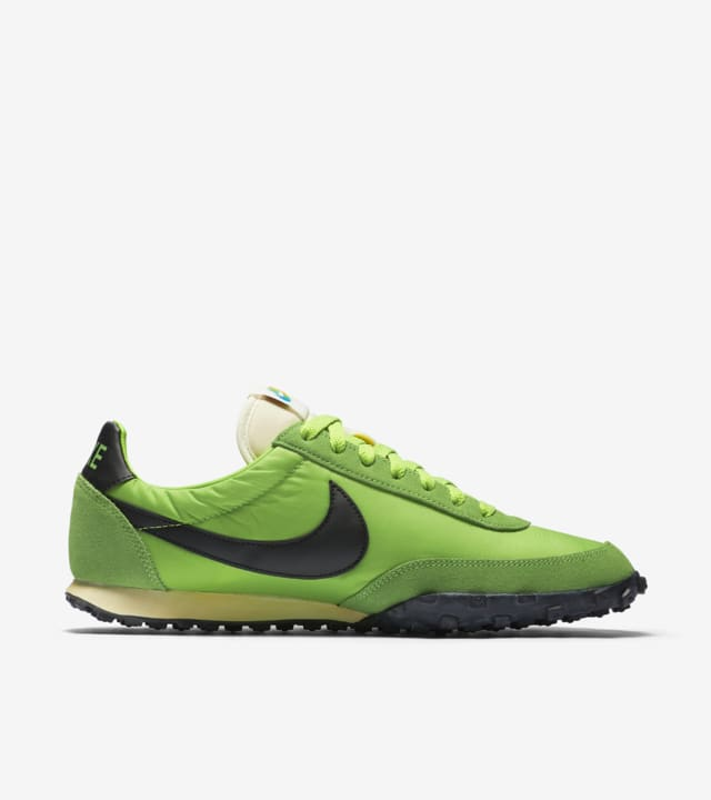 Oscuro Tableta flotante  Nike Waffle Racer 17 Premium 'Action Green'. Nike SNKRS
