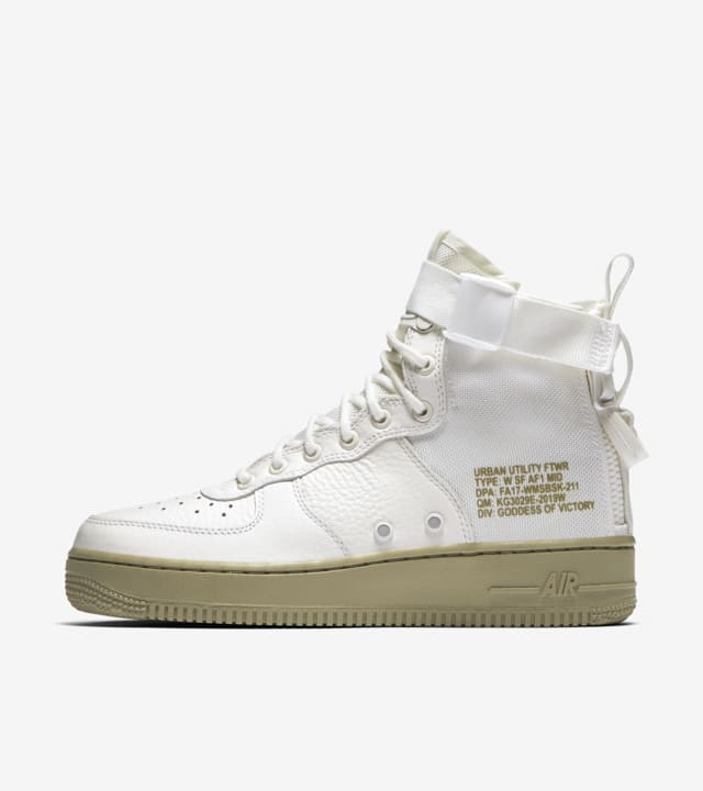 Nike SF Air Force 1 Mid W Scarpa grigio