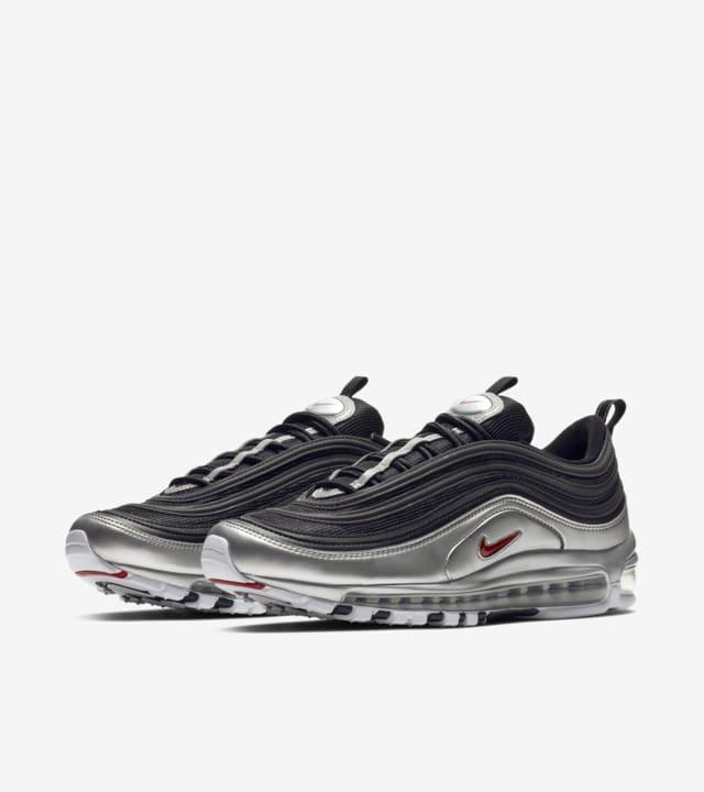 air max 97 black silver