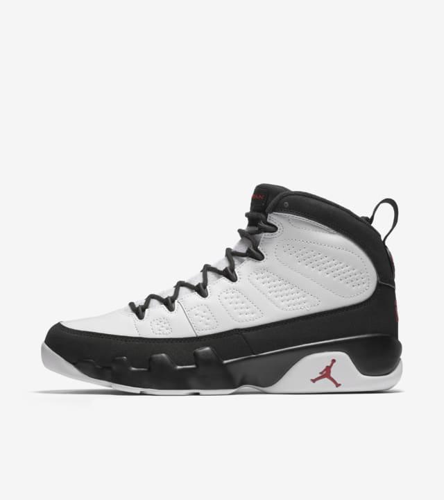 Air Jordan 9 Retro OG 'White \u0026 Black