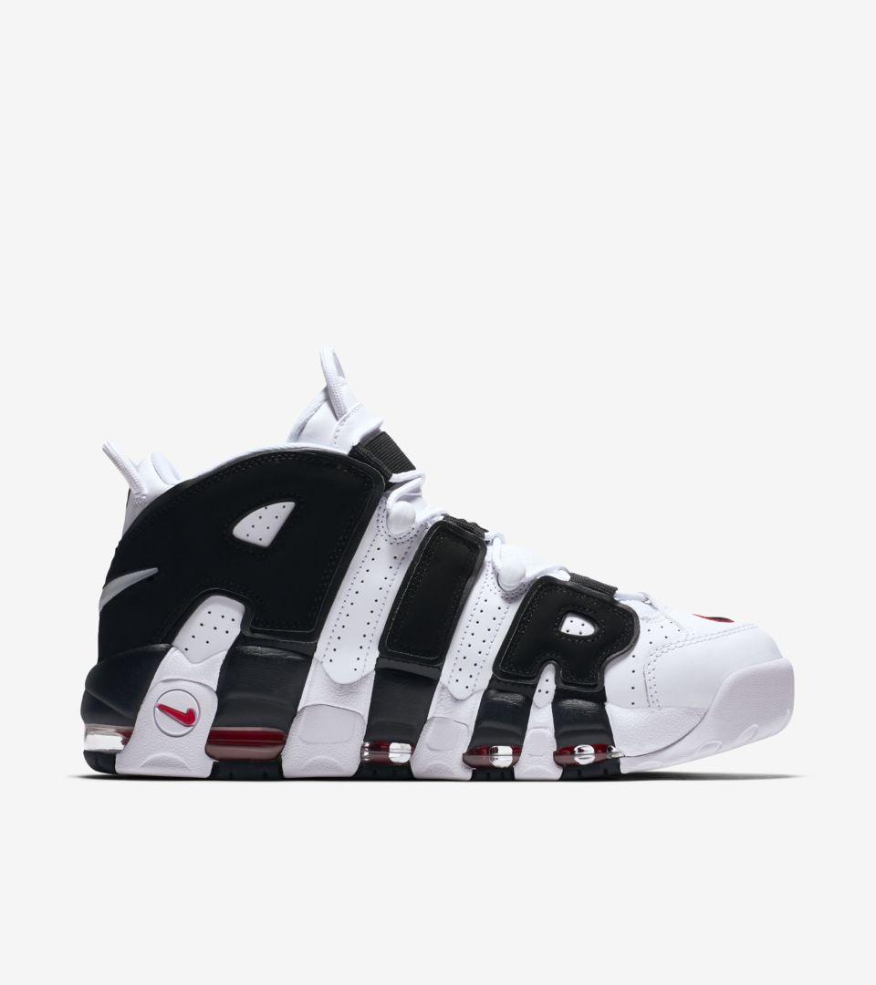 Nike University Uptempo More Black'NikeSnkrs Red 96 Air 'whiteamp; cl1FKTJ
