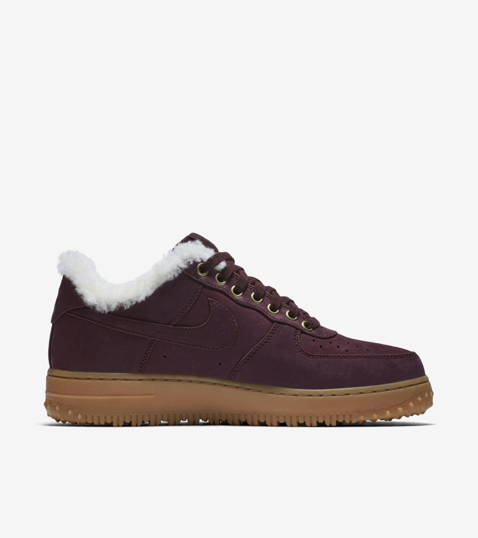 Light Winter 1 Brown Force 'burgundy Nike Premium Crushamp; Gum Air F1JclK