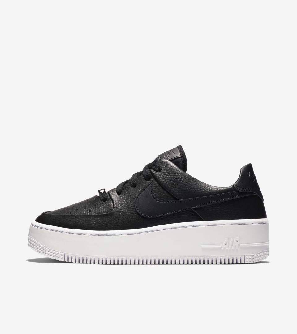 Date Sage amp; Force White' Women's Low Nike 'black Snkrs Air 1 Release qBxzw