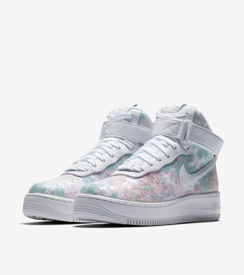 Air Lx Nike Shine'Nike⁠Snkrs Women's Upstep 'summer 1 Force High T1culFJK3