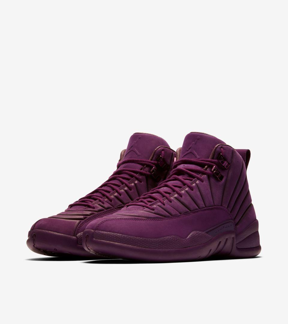 Psny »Nike De Air 12 Date Bordeaux Jordan Sortie La Retro « WIHED29