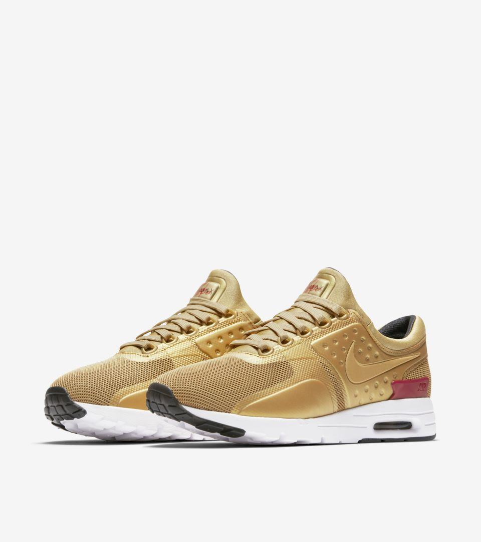 Gold' Max Release Nike DateNikeSnkrs Air 'metallic Women's Zero knwP0O