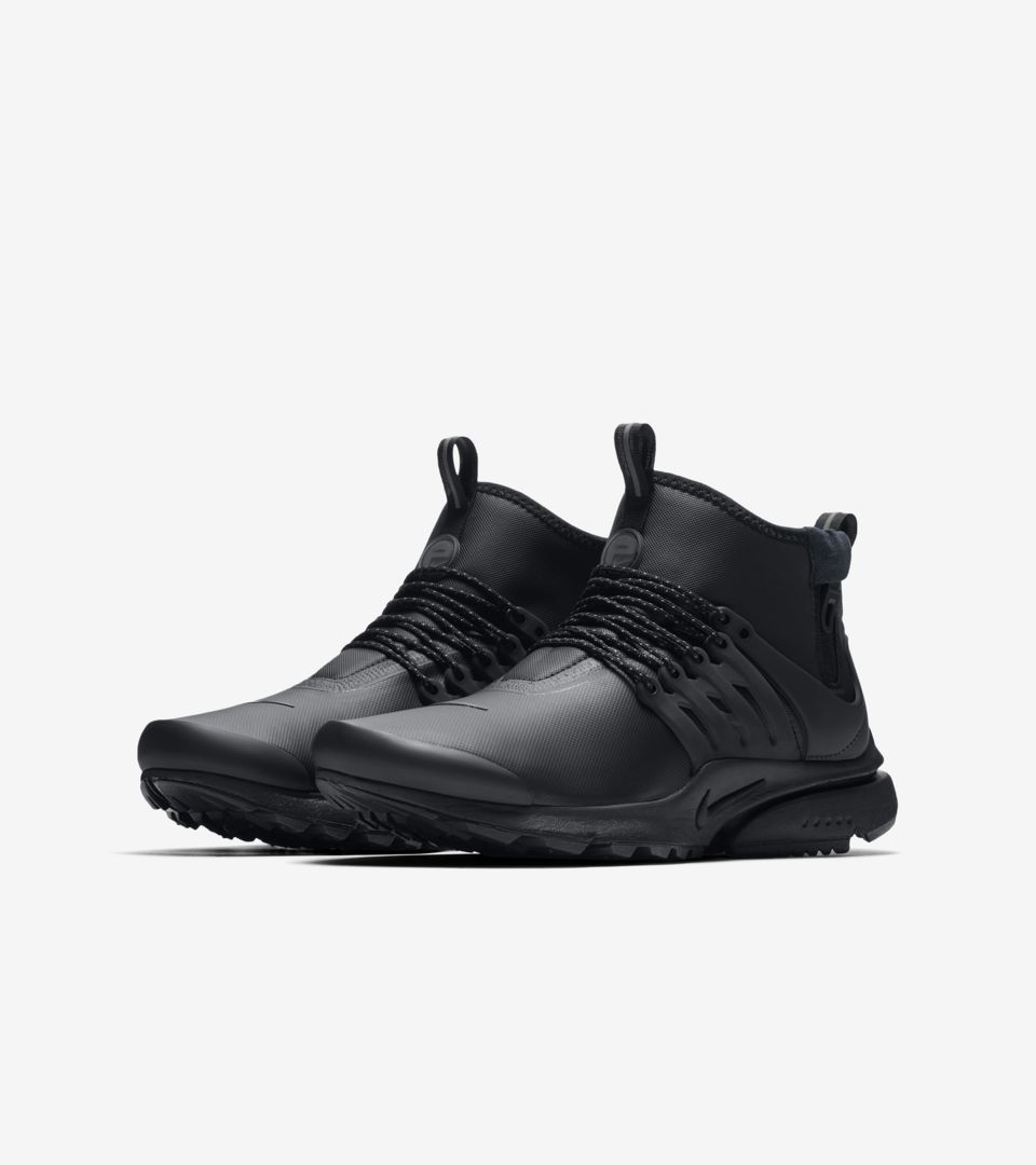 Presto Dark Sneakerboot Air Utility amp; 'black Mid Grey' Nike Release vnqCZwg4Z