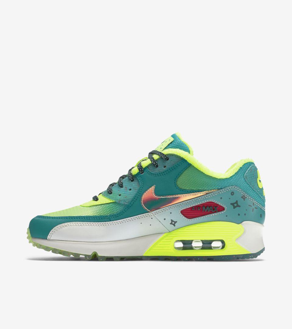 Air amp; Doernbecher Max Premium Nike 'green Women's Volt' 90 Nike 5f6Fn5q0