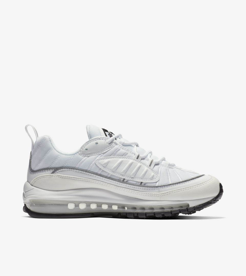 Air Date 'whiteamp; Women's Reflective Max Release 98 Silver' Nike Yyfb6g7
