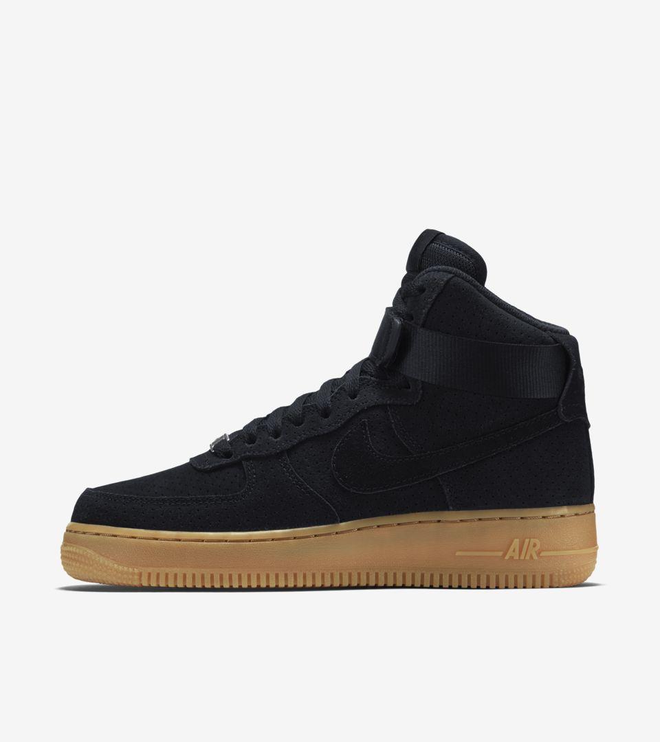 Hi Suedeamp; Nike Gum'Nike Force Women's Air 'black 1 W9YE2DHI
