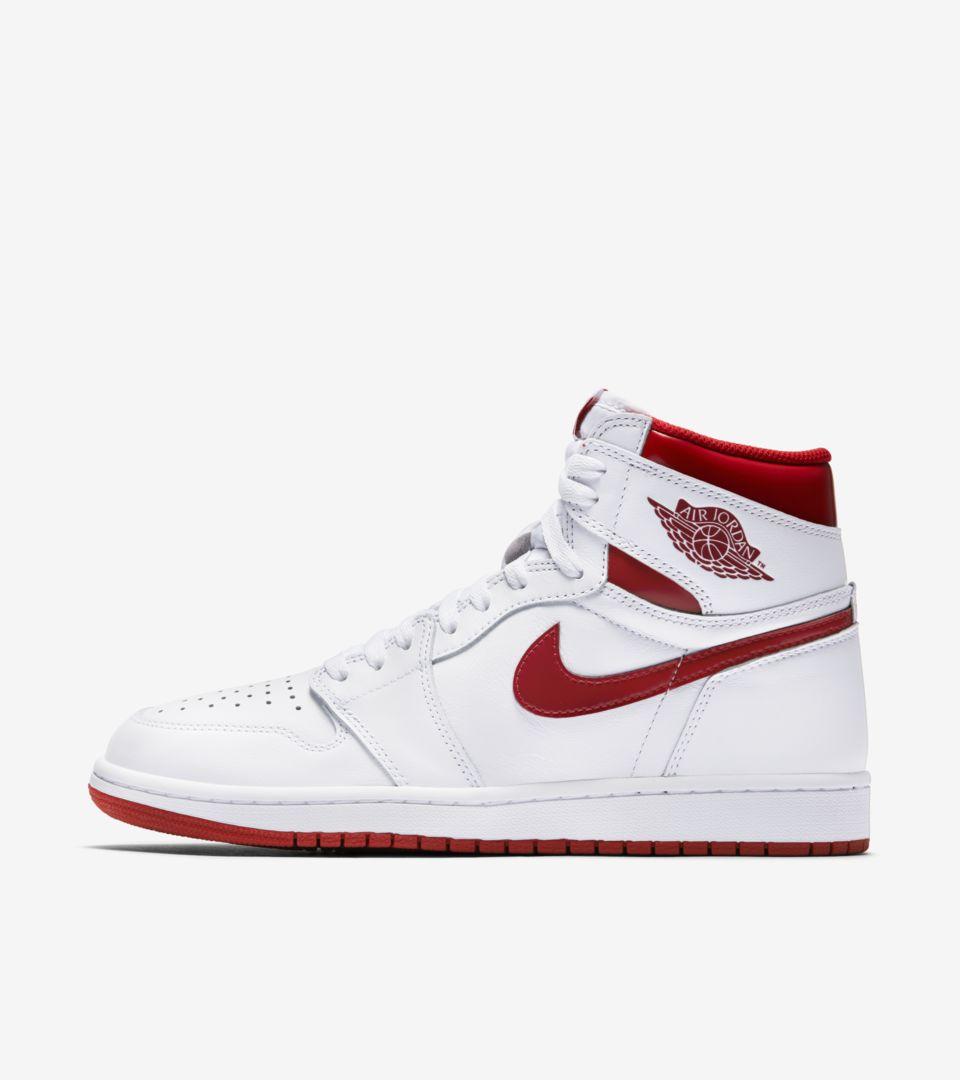 1 Air Red' DateNikeSnkrs Release Jordan Retro 'metallic w0mvN8n