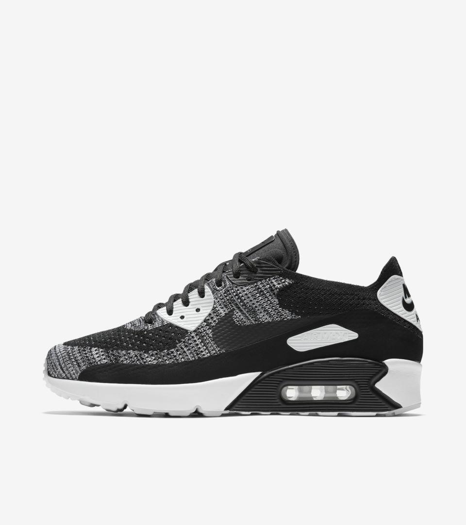 amp; White' Nike 0 90 2 Nike Flyknit Ultra Air 'black Max Snkrs 1a484wxzqO