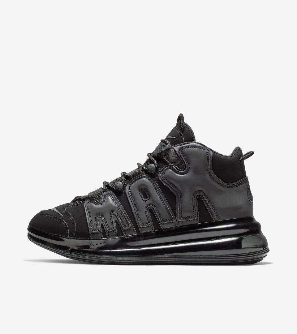 Qs 1 Air More 720 Release 'black' Nike Uptempo DateNike KJFcTl13