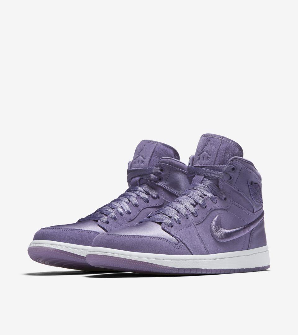 Jordan Retro 'purple Air 1 Women's Release DateNike High Earth' UVpqzSM