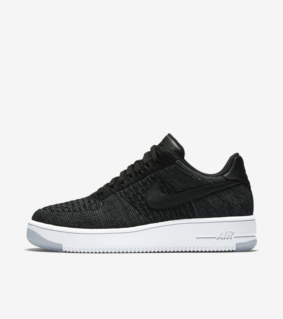 Low Women's Flyknit 1 Nike Date 'black' Release Force Ultra Air qGVpSUzM