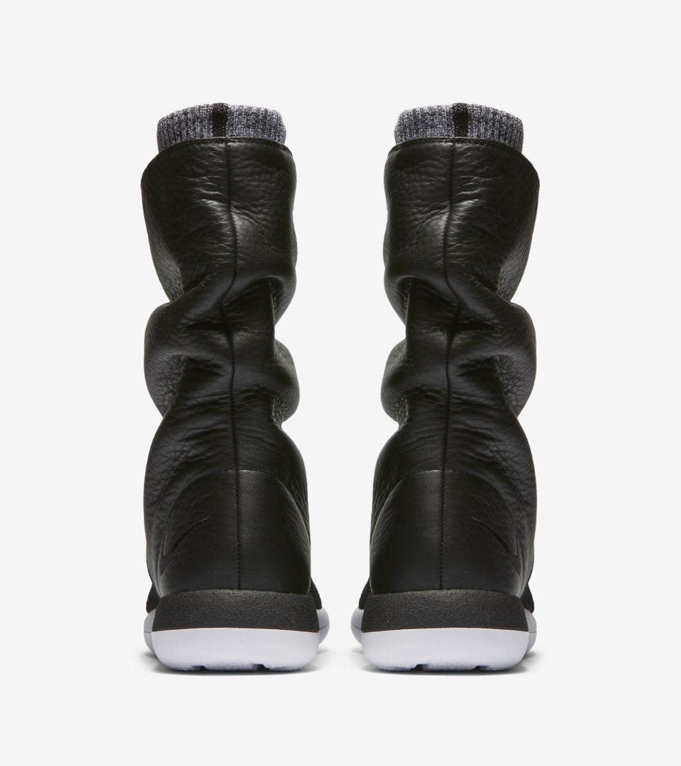 competitive price 3e484 b119e womens-nike-roshe-two-flyknit-hi-sneakerboot-black-white-release-date.jpg