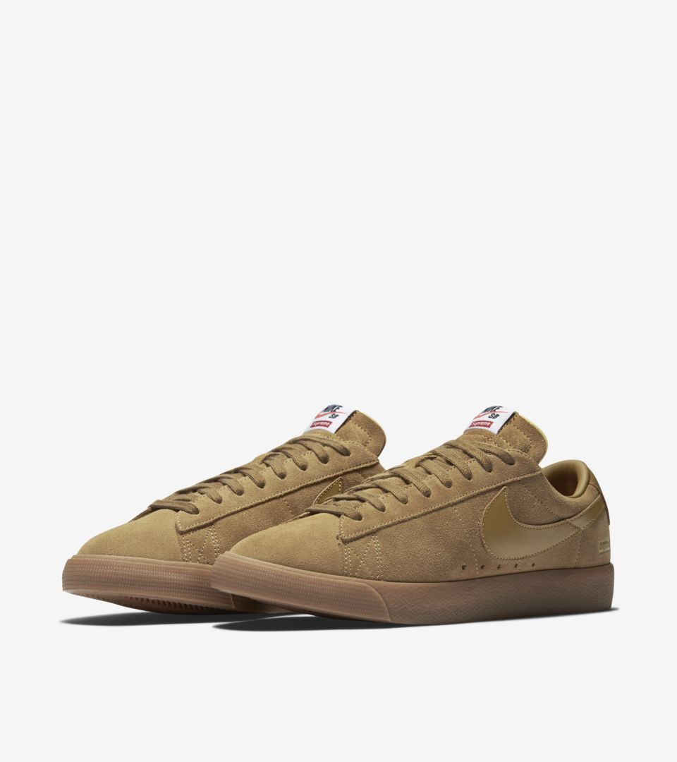 Supreme Low DateNikeSnkrs Blazer Nike 'golden Release X Gt Beige' dBrexCo